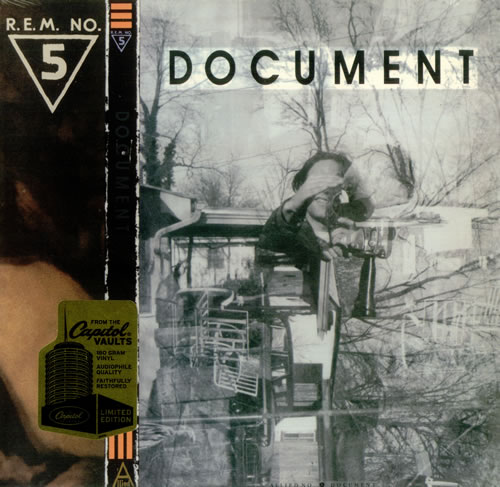 Αποτέλεσμα εικόνας για DOCUMENT - R.E.M. vinyl cover